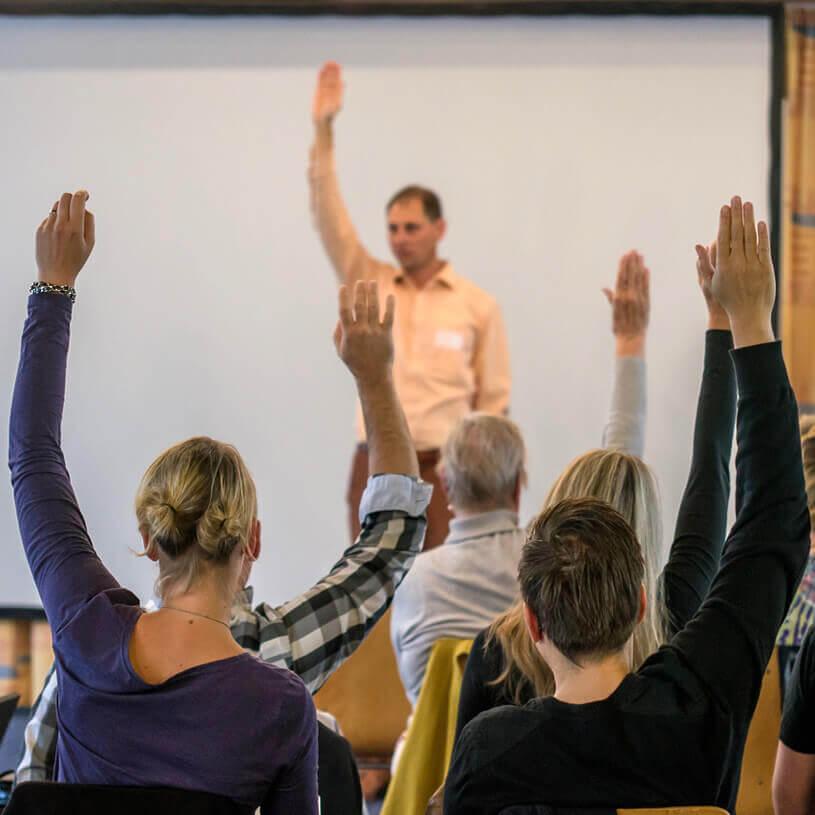 Kostenloses NLP Infoseminar – Teilnehmer – Pfalz NLP Academy